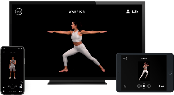 The Nearly Invisible Interactive Home Gym | MIRROR